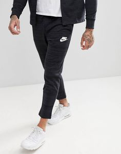 competitive price 16a47 46789 Nike Advanced Knit Skinny Joggers In Black 885923-010