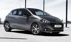 #Peugeot #208 - 3 porte.  La berlina nella versione 3 porte dal design frizzante e sportivo adatto a un pubblico giovanile.