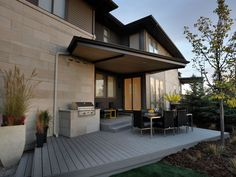 Grey deck is interesting-HGTV Green Home 2011: Beautiful Room Pictures : Green Home : Home & Garden Television