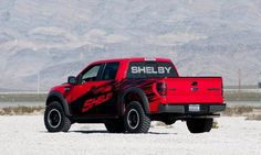 Shelby has revived the muscle pickup truck with the rated Shelby Raptor.Based on the 2013 Ford SVT Raptor, the Shelby Raptor adds enhanced power and handling, along with three Shelby . Shelby Raptor, 2014 Ford Raptor, Ford Svt, Ford Shelby, Car Ford, Shelby Gt500, Trucks And Girls, Big Trucks, Ford Trucks