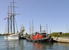 Tug Boats, Sailing Ships, Toronto, Sailboat, Tall Ships