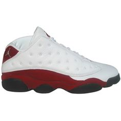 079d73f5f4f Air Jordan 13 Retro Low White Red White Metallic Silver Varsity Red Black  310810-105