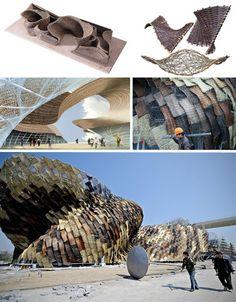 Shanghai Expo 2010: 15 Cutting-Edge Architectural Designs   Spain's Pavilion