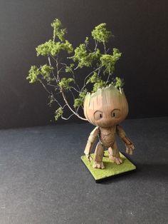 HG 1/144 Petit'G Guy ver. Groot by Dee Chen