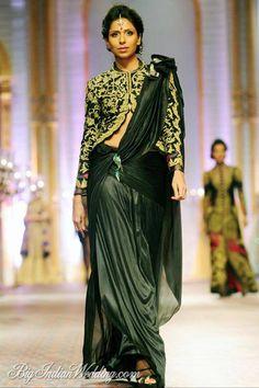 Mandira Wirk at Aamby Valley India Bridal Week 2013 https://www.facebook.com/beautagonal