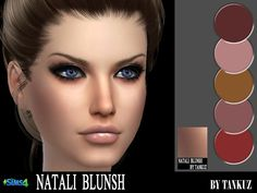 Sims 4 CC's - The Best: Makeup by Tankuz