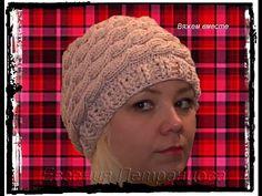 женская весенняя шапка косами !!! - Women's spring hat braids !!! - YouTube