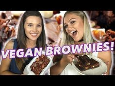 SWEET POTATO BROWNIES!? Vegan VS: Brownies w/ Cerys & Georgia