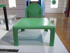 kartell museo gae aulenti green chair