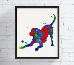 Labrador Art Labrador Retriever Labrador Print by MiaoMiaoDesign