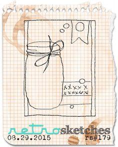 retro sketches : a challenge: retrosketches #179...
