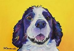 Trudy: English Springer Spaniel that melts your customers hearts.