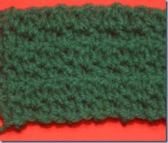 Crumpled Griddle Stitch Crochet