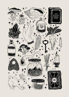 Trendy Line Art Drawings Flowers Ink Ideas Flash Art Tattoos, Body Art Tattoos, Tattoo Flash Sheet, Tatoos, Kritzelei Tattoo, Tattoo Drawings, Heart Drawings, Luck Tattoo, Card Tattoo