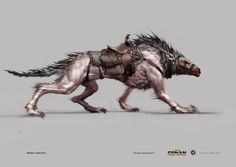 Here are some additional visions of how the Wargs of Middle-earth could look. Description from mordorthelandofshadow.blogspot.co.uk. I searched for this on bing.com/images