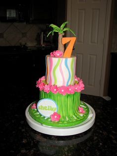 7th birthday cakes for girls - Google Search