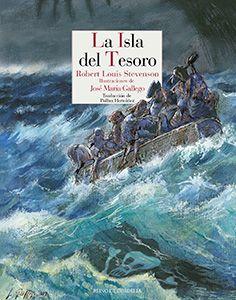 La isla del tesoro es la novela de aventuras por excelencia, el gran libro de piratas de la historia de la literatura. Ha cautivado a lectores del mundo entero y ha atraído a los mejores ilustradores. http://rabel.jcyl.es/cgi-bin/abnetopac?SUBC=BPBU&ACC=DOSEARCH&xsqf99=1835343