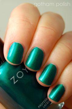"Zoya for Zang Toi ""Chinoiserie Fantasy"" -- The. Perfect. Emerald."