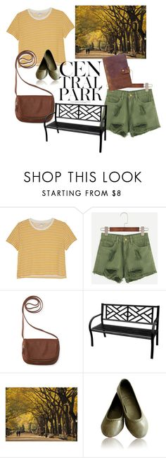 """""""A Day In Central Park-200 followers"""" by grantaire1832 ❤ liked on Polyvore featuring Monki, Aéropostale, Lara and Rear View Prints"""