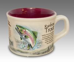 American Expedition Rainbow Trout Soup Mug