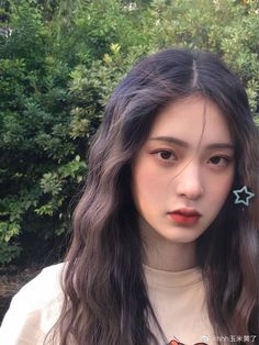 Korean Girl Photo, Cute Korean Girl, Asian Girl, Makeup Korean Style, Korean Eye Makeup, School Make Up, Tumbrl Girls, Ulzzang Makeup, Ulzzang Hair
