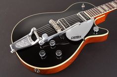 Gretsch Guitars G6128T-DSV Duo Jet with Fixed Arm Bigsby Black (via Musician's Friend)