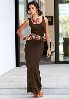 Catofashions.com Dresses Maxi Dress Cato Fashions