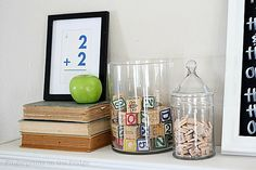 Back To School Mantel Ideas by Fingerprints on the Fridge for Tatertots and Jello