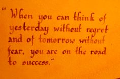 Success...