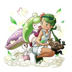 Imagen de lulu, pokemon, and mallow