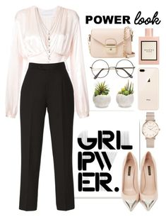 """""""Untitled #963"""" by dolrebeca ❤ liked on Polyvore featuring Stupell, Givenchy, Elie Saab, Louis Vuitton, Ettika, ROSEFIELD, Melrose International, Gucci, Longchamp and girlpower"""
