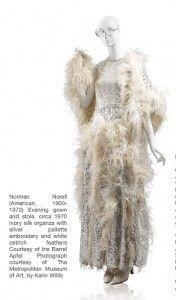 iris apfel norell evening gown