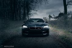 A BMW M6 Photoshoot By Cyprian Photography, showcasing a BMW M6 Coupe in an interesting atmosphere and surroundings