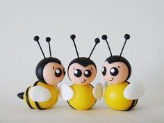 Aplique abelhinha (biscuit)