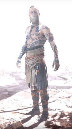Balder God of war 4 Rune Tattoo, Norse Tattoo, Viking Tattoos, Character Inspiration, Character Design, Kratos God Of War, God Tattoos, Viking Culture, Norse Vikings