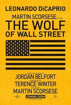 The Wolf of Wall Street. Carteles de cine 2013.