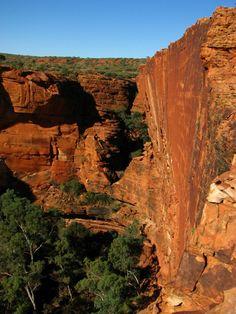 Kings Canyon in the Australian Outback. #Australia