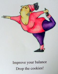 Art Impressions Ai People Yoga Yolanda Set (Sku#4209)