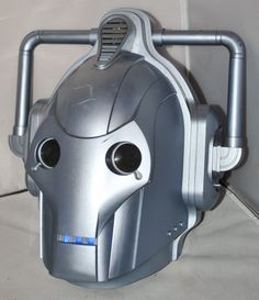 Doctor Who - Cyberman Voice Changer Helmet, Good Working Order