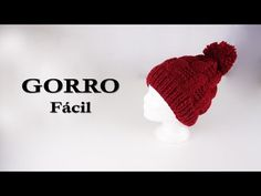 😍¡Gorro Muy Fácil de hacer!👌 Crochet Hats, Beanie, Instagram, Youtube, Wool Hats, Scarves, Caps Hats, Blouses, Knitting Needles