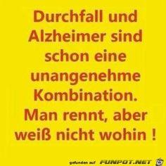 Durchfall und Alzheimer .........