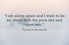 Meursault has a very similar longing for solitude deep inside him much like Nietzsche. This drives many of his characters actions. Poem Quotes, Words Quotes, Life Quotes, Sayings, Attitude Quotes, Qoutes, Poems, Friedrich Nietzsche, Frederick Nietzsche Quotes