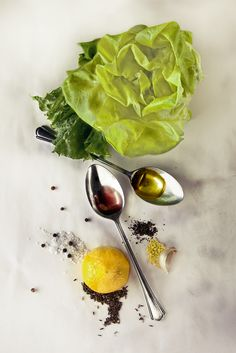 Irving Penn. Salad dressing.