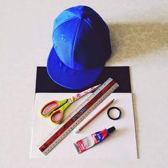 Customizar gorra de niño con Goma Eva / Foamy con forma de tiburón DIY