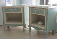 SOLD/French Provincial Side Tables by LeonasFrontPorch on Etsy