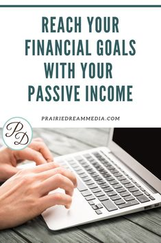 Are you thinking about creating a passive income to help reach some of your financial goals? Depending on what your financial goals are, creating a passive income may not be the best option. Read more to find out if creating a passive income is right for you, and if it can help reach you to new financial heights.