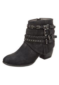 Stivaletti texani   biker - black - Zalando.it Womens Biker Boots 09ee7f9f85