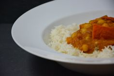 Kürbis Kichererbsen Curry