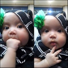 Baby with hijab..