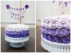 Image result for violet roses cake